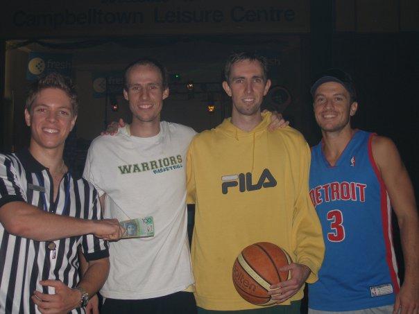 Basketball Winning Team 2009