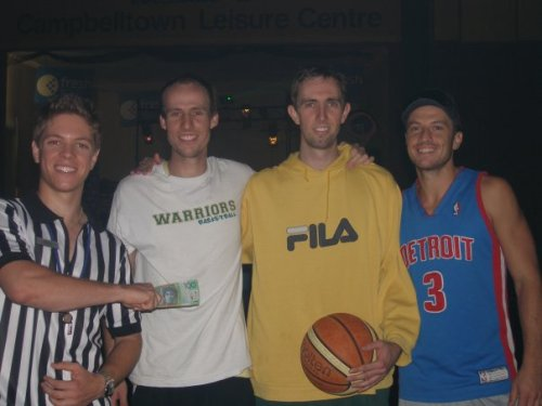 Basketball Winning Team 2009