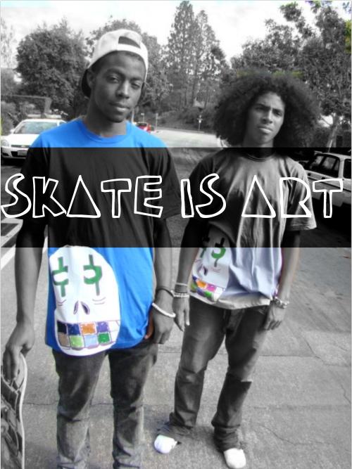 skate is art